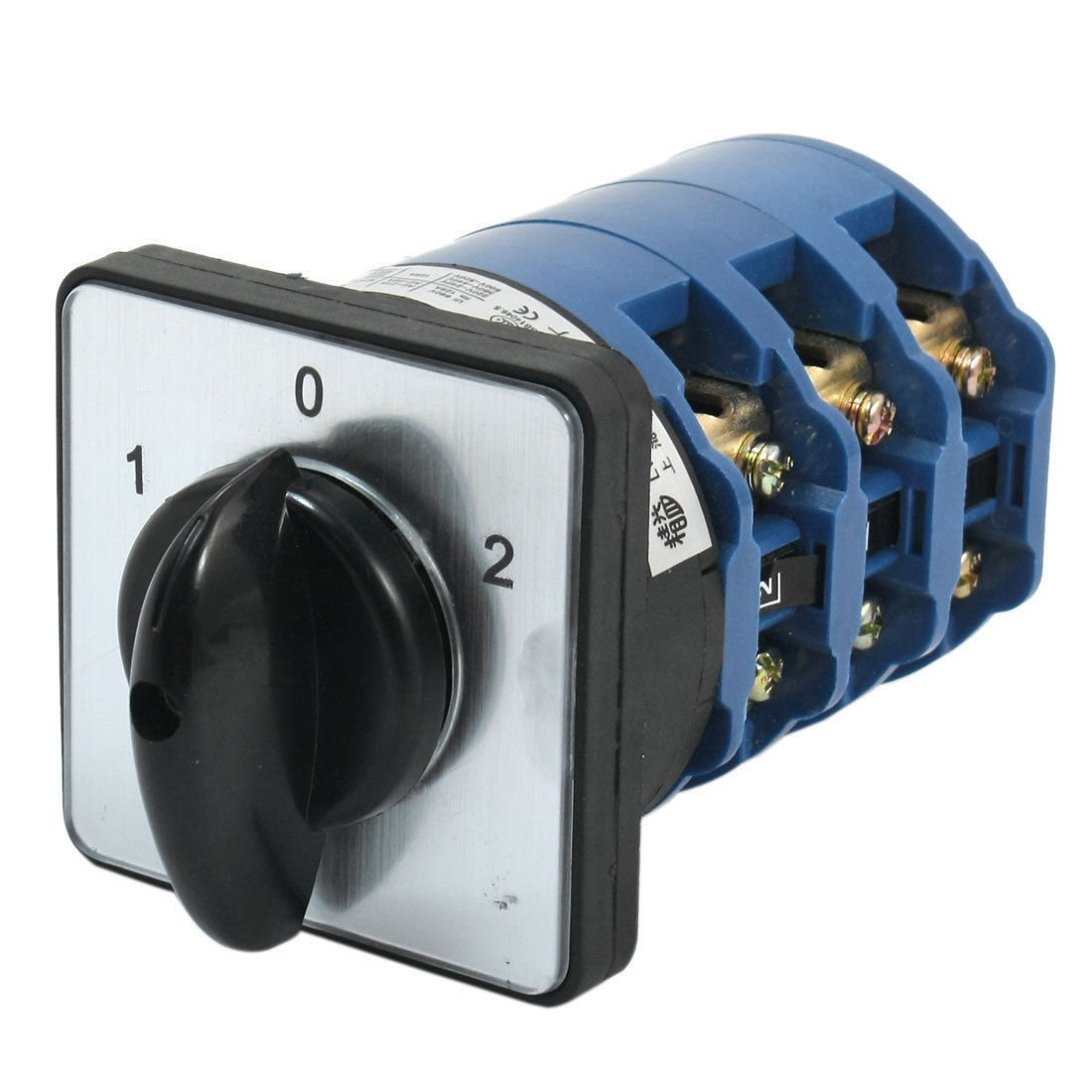 660V 125A 24 Screw Terminals 3Position 3Pole Changeover Switch LW28-125/3