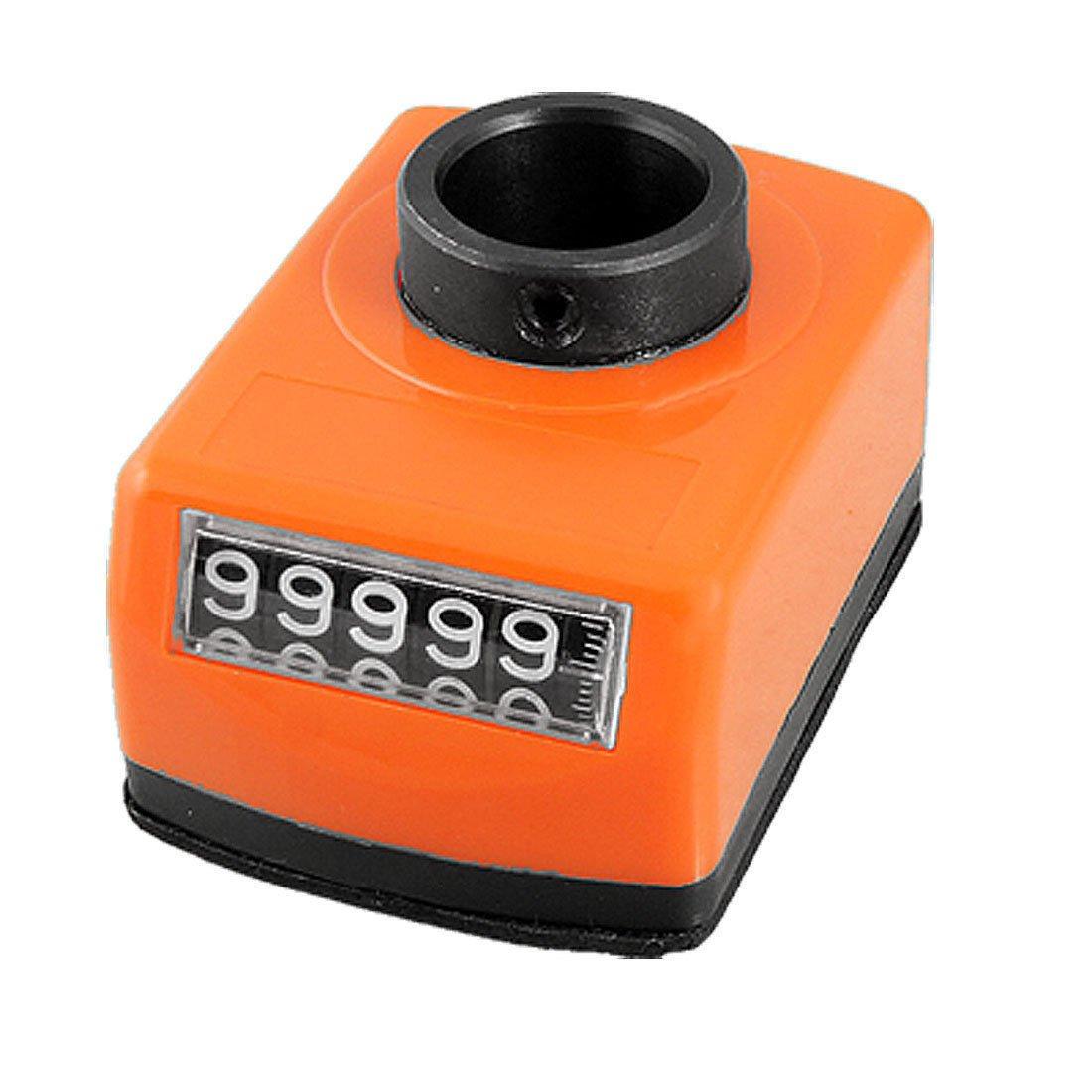 2.0mm Axial Pitch Orange Plastic Housing 0-99999 Range Digital Indicator