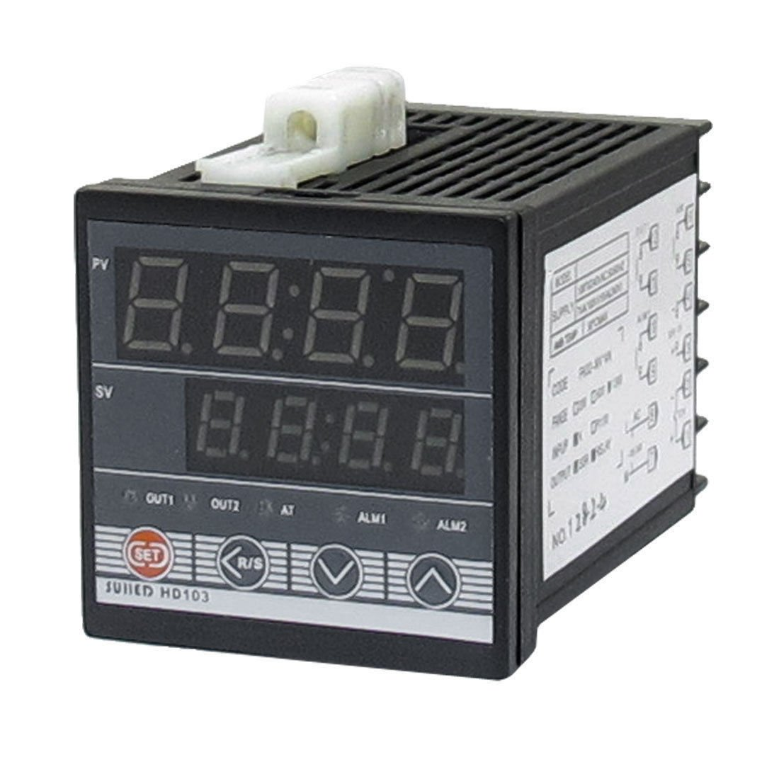 SSR Relay K Type Thermocouple PV SV Display Digital PID Temperature Controller