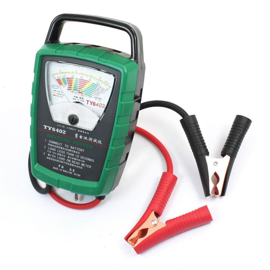 2V 6V 12V Lead-Acid Battery Voltage Checker Tester Measurement TY6402