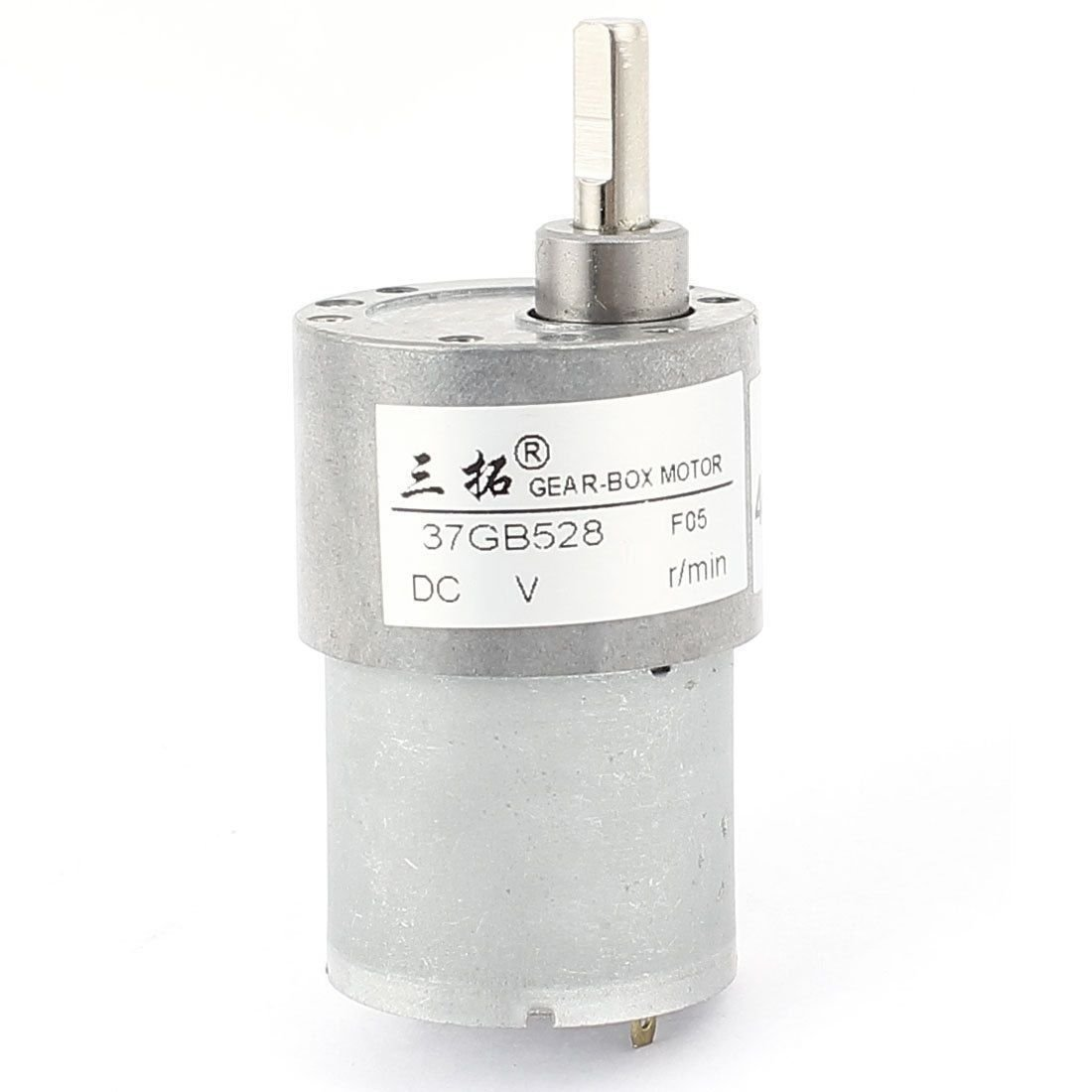 DC 24V 100RPM 0.15A 1.4KG.cm DC Gear Box Reducer Variable Speed Motor Reversible