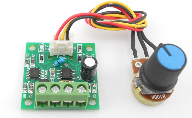 DC 1.8-15V Mini PWM DC Motor Speed Controller Motor Drive Speed Control Switch