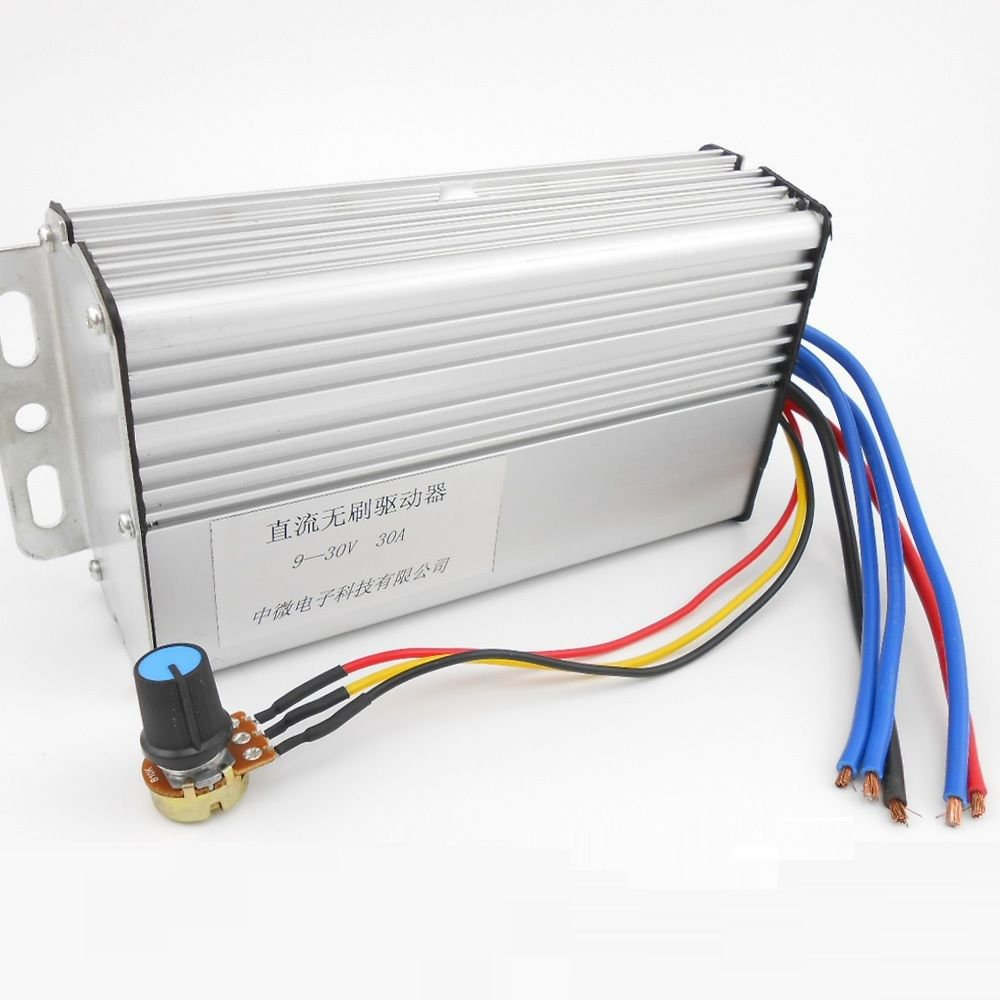DC 9-30V PWM DC Motor Speed Controller DC Brushless Drive Electronic Governor