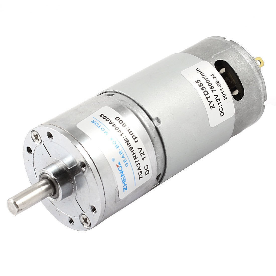 DC 12V 7500RPM 6mm Shaft Dia Speed Reduce Magnetic Electric Geared Box Motor