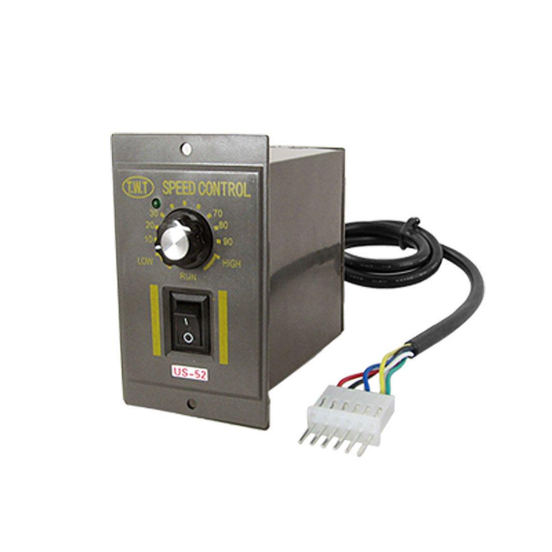 AC 220V 120W Electric Gear Motor Speed Controller US-52