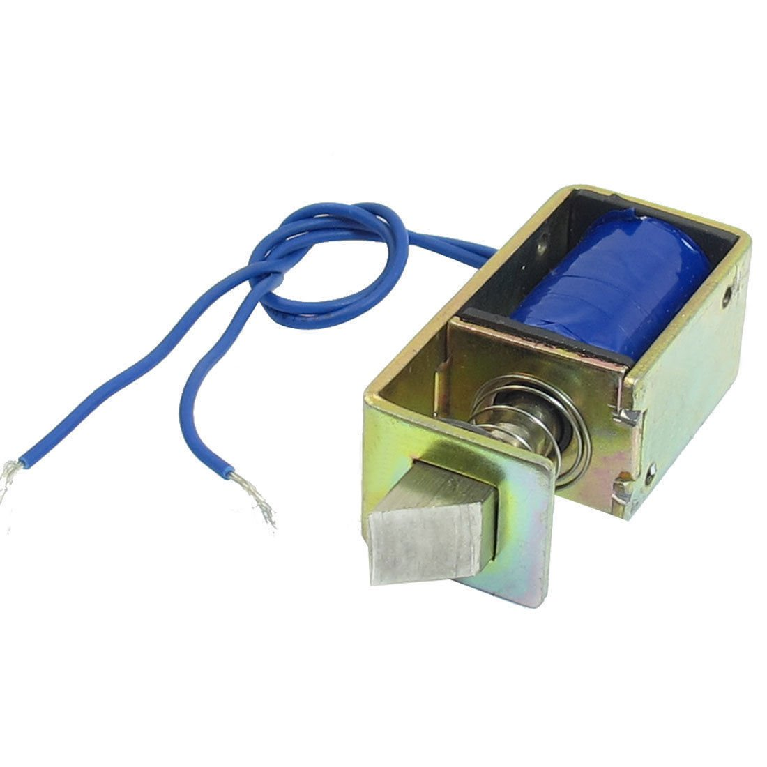 DC 12V 1A 10mm Stroke 15N Force Open Frame Type Solenoid for Electric Door Lock