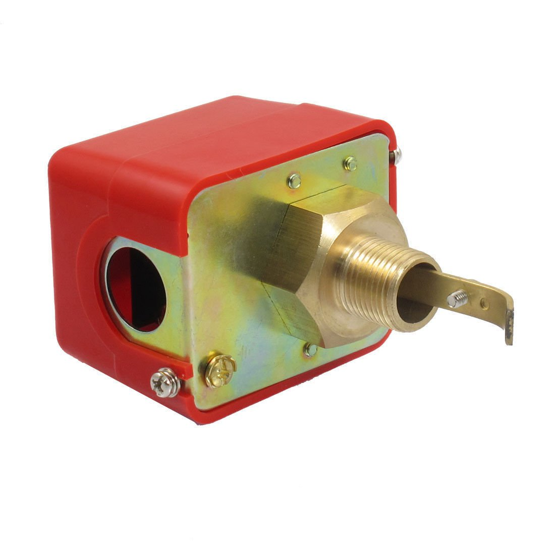 """Paddle Type Male G1/2"""" Thread SPDT Water Flow Control Switch AC 250V 15A HFS-15"""