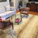 Ballard Designs Antelope Handmade Area Rug & Carpet size 5x8