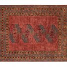 New PB ARLO Red Persian Hand Tufted 8X10 Persian Design Wool Carpet Area Rug