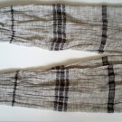 Vegan hand-woven hemp shawl