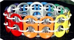 Rainbow Pride Pop-Tab Bracelet (C=)