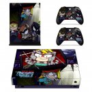 South Park The Fractured But Whole decal skin sticker for Xbox One X console and controllers