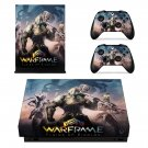 Warframe plains of eidolon decal skin sticker for Xbox One X console and controllers