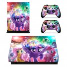 My Little Pony decal skin sticker for Xbox One X console and controllers