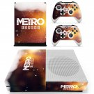 Metro Exodus decal skin sticker for Xbox One S console and controllers