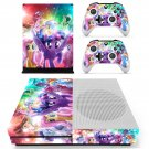My Little Pony decal skin sticker for Xbox One S console and controllers
