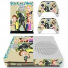 Rick and Morty decal skin sticker for Xbox One S console and controllers