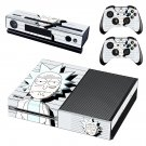 Rick and Morty decal skin sticker for Xbox One console and controllers
