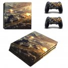 World of Tanks decal skin sticker for PS4 Pro console and controllers