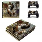 Kung Fu Panda 2 decal skin sticker for PS4 Pro console and controllers