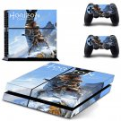 Horizon Zero Dawn decal skin sticker for PS4 console and controllers