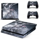 God of War decal skin sticker for PS4 console and controllers