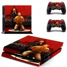 Wolfenstein 2 decal skin sticker for PS4 console and controllers