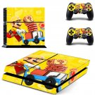 Super Mario Maker decal skin sticker for PS4 console and controllers