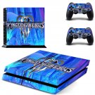 Kingdom Hearts decal skin sticker for PS4 console and controllers