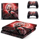 Bayonetta decal skin sticker for PS4 console and controllers