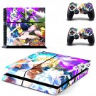 Dragon Ball FighterZ decal skin sticker for PS4 console and controllers
