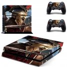Assassin's Creed odyssey decal skin sticker for PS4 console and controllers