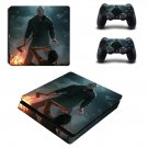 Friday the 13th decal skin sticker for PS4 Slim console and controllers