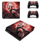 Bayonetta decal skin sticker for PS4 Slim console and controllers