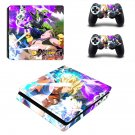 Dragon Ball FighterZ decal skin sticker for PS4 Slim console and controllers