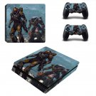Anthem decal skin sticker for PS4 Slim console and controllers