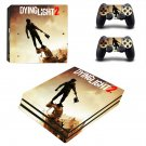 Dying Light 2 decal skin sticker for PS4 Pro console and controllers