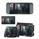 Friday the 13th decal skin sticker for Nintendo Switch console and controllers