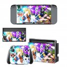 Dragon Ball FighterZ decal skin sticker for Nintendo Switch console and controllers