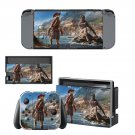 Assassin's Creed odyssey decal skin sticker for Nintendo Switch console and controllers