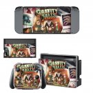 Gravity Falls decal skin sticker for Nintendo Switch console and controllers