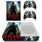 Friday the 13th decal skin sticker for Xbox One S console and controllers