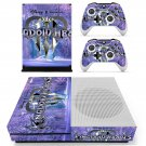 Kingdom Hearts decal skin sticker for Xbox One S console and controllers