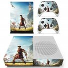Assassin's Creed odyssey decal skin sticker for Xbox One S console and controllers