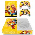 Super Mario Maker decal skin sticker for Xbox One S console and controllers