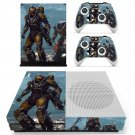 Anthem decal skin sticker for Xbox One S console and controllers