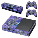 Kingdom Hearts decal skin sticker for Xbox One console and controllers