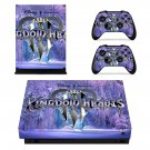 Kingdom Hearts decal skin sticker for Xbox One X console and controllers