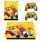 Super Mario Maker decal skin sticker for Xbox One X console and controllers
