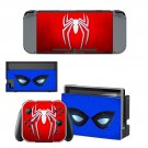 Spider Man decal skin sticker for Nintendo Switch console and controllers